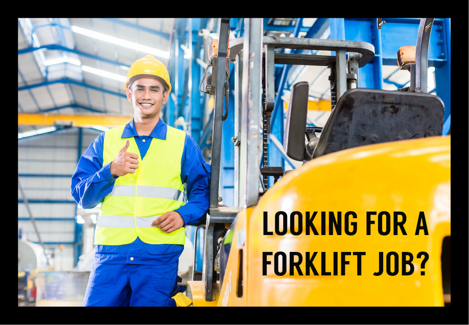 forklift jobs available now